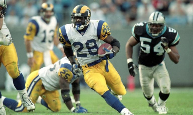 We just had Rams Hall of Fame running back, Marshall Faulk, on the LA Football Podcast! Who is the greatest Rams RB of all time?
